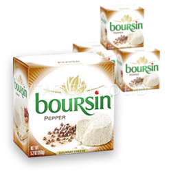 Boursin pepper cheese Image
