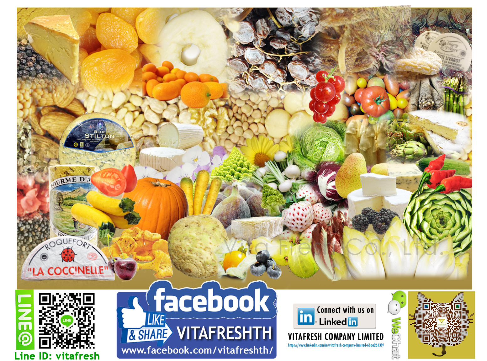 Vitafresh Finest imported food Thailand