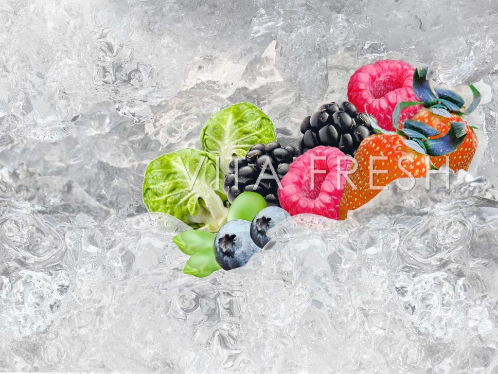 Frozen fruit vegetable imported IQF FOOD | VITAFRESH , Finest Imported