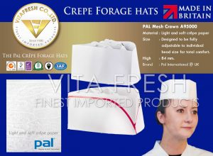 Crepe Forage hats