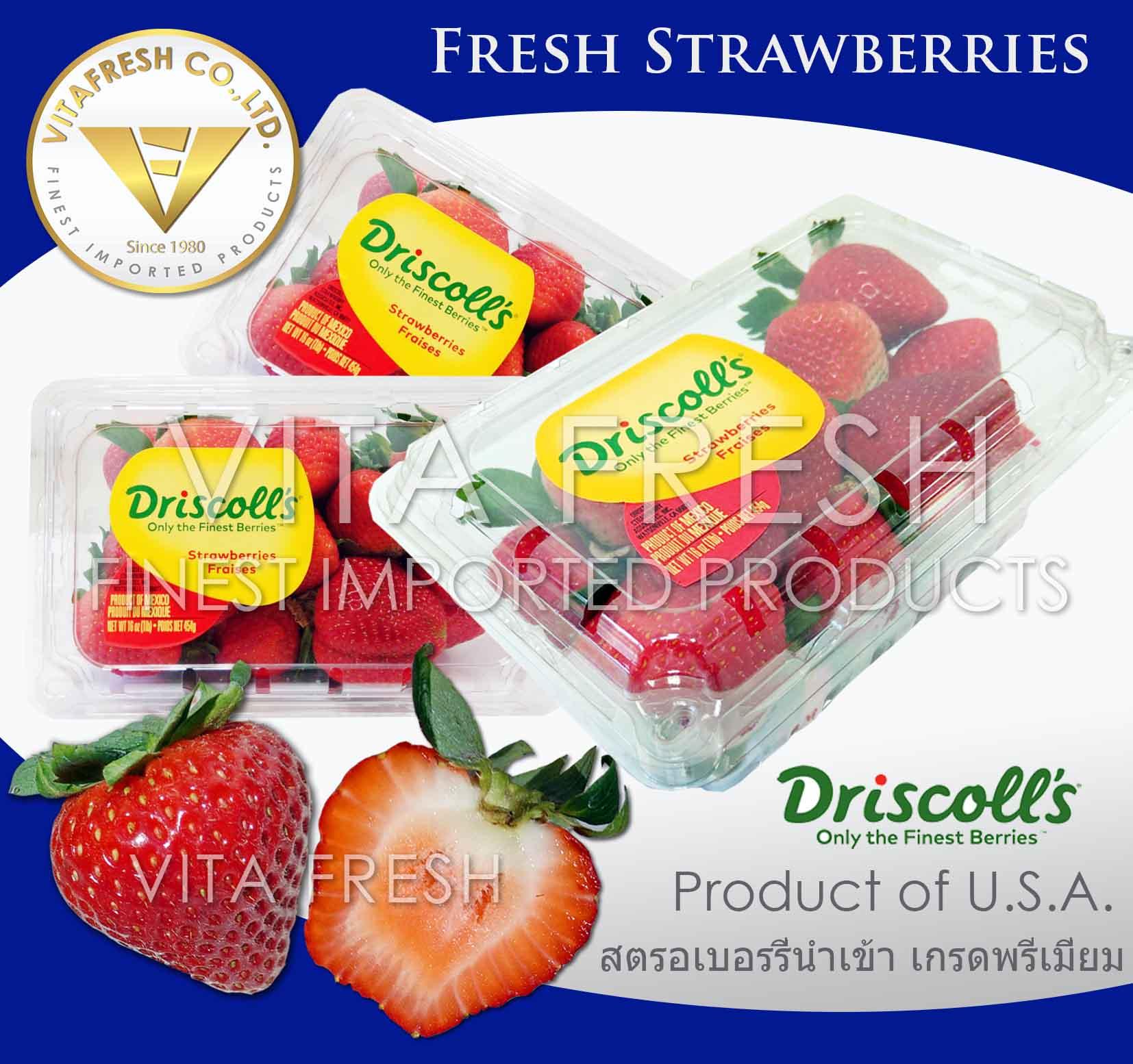 Fresh strawberry Driscoll